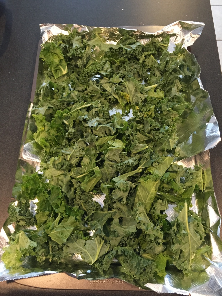 how to cook kale in the oven